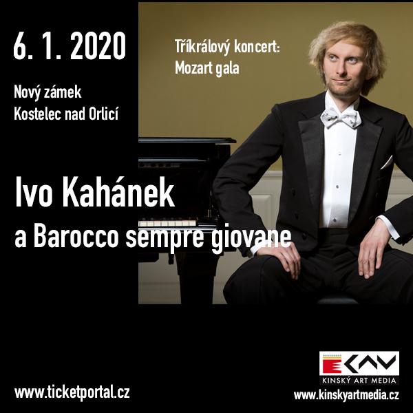 Ivo Kahánek a Barocco sempre giovane: Mozart gala