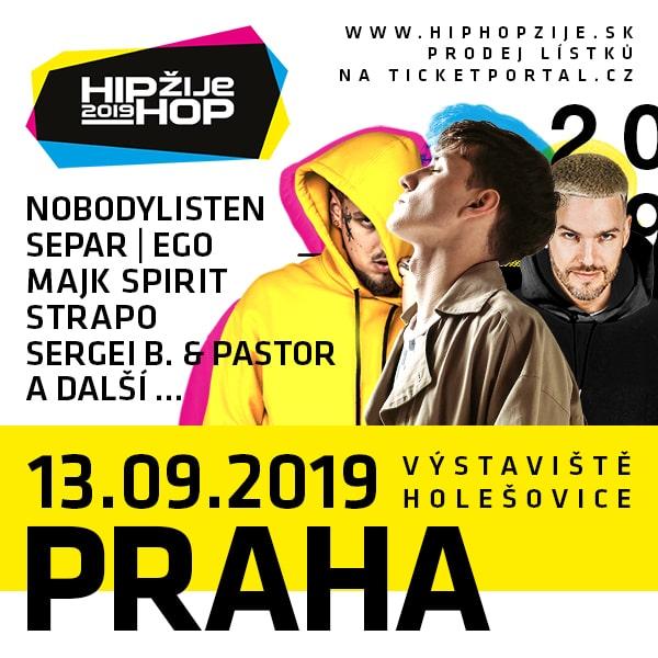 HIP HOP žije Praha