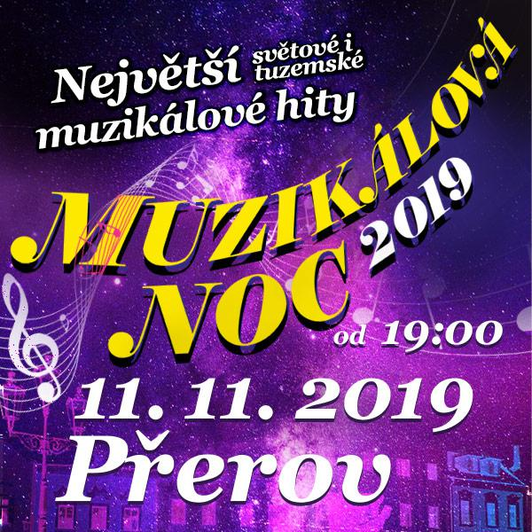 MUZIKÁLOVÁ NOC 2019