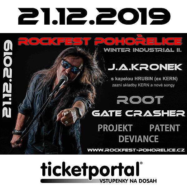WINTER INDUSTRIAL ROCKFEST POHOŘELICE II.