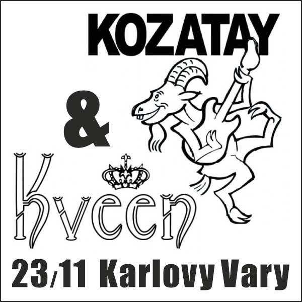 KOZATAY (křest desky) + KVeen