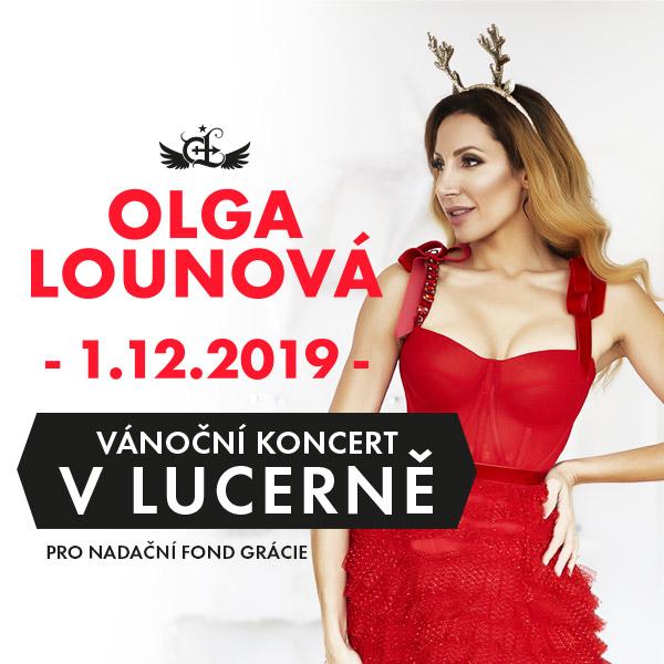 Vánoční koncert Olgy Lounové pro NF Grácie