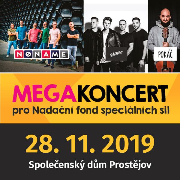 MEGA koncert pro Nadační fond speciálních sil