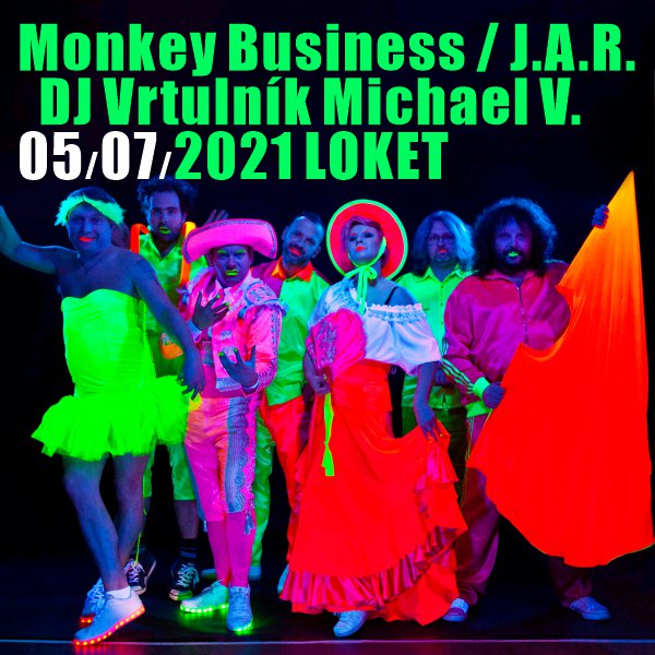 MONKEY BUSINESS / J.A.R. / DJ Vrtulník Michael V.