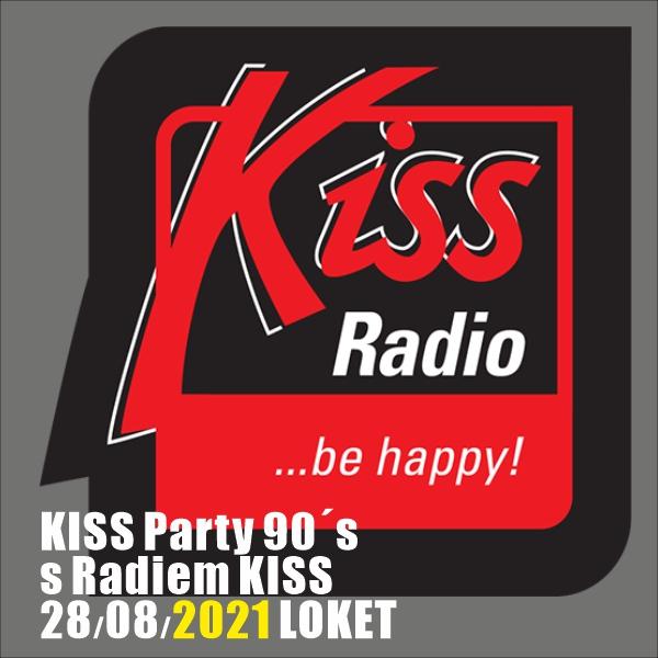 KISS Party 90´s s Radiem KISS 2021