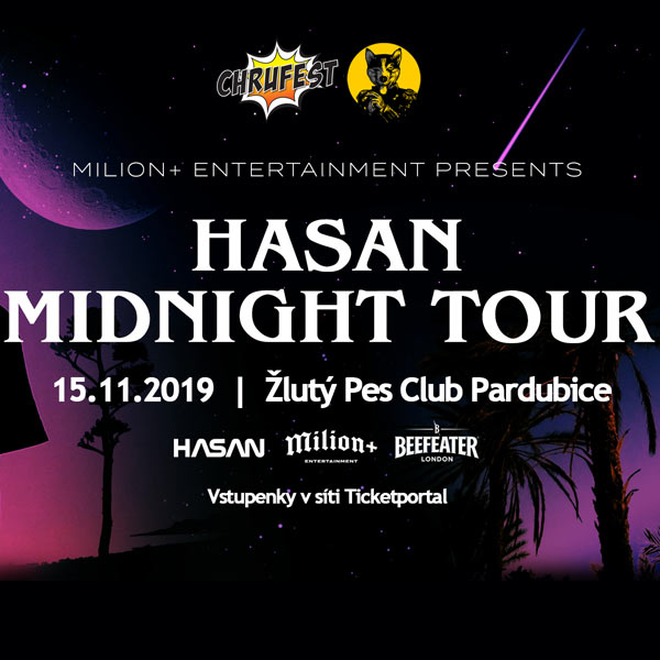 HASAN - Midnight Tour - Pardubice