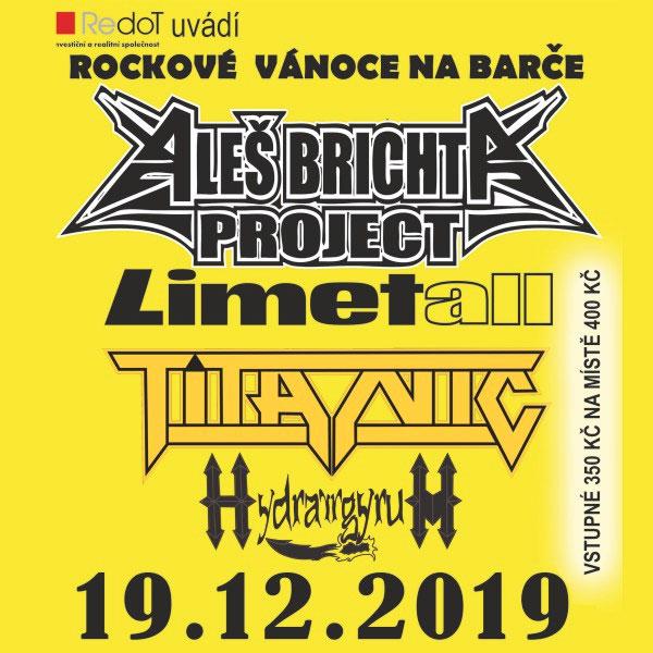 Rockové Vánoce na Barče - Aleš Brichta Project…