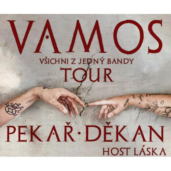 Pekař + Jakub Děkan - Vamos tour