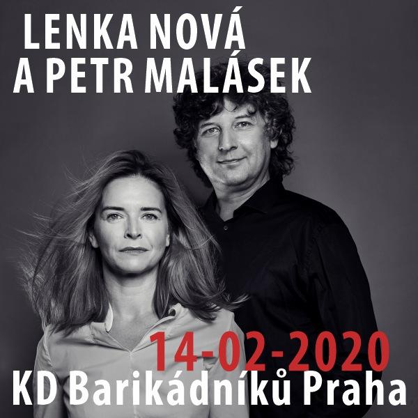 LENKA NOVÁ A PETR MALÁSEK na Barče
