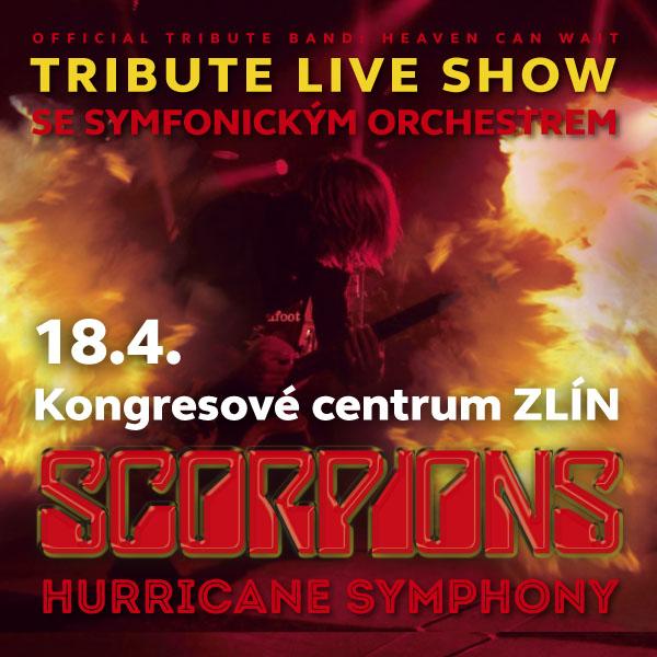 SCORPIONS TRIBUTE SHOW se symfonickým orchestrem
