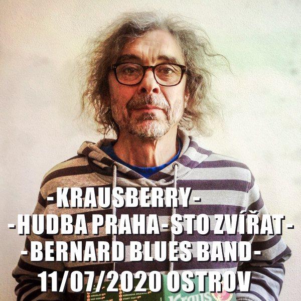 Krausberry-Hudba Praha-Sto zvířat-Bernard Blues B.