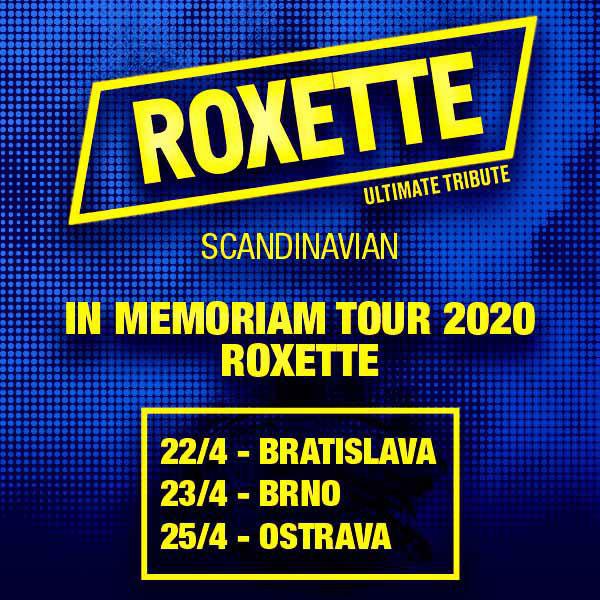 ROXETTE Ultimate Tribute - IN MEMORIAM TOUR 2020