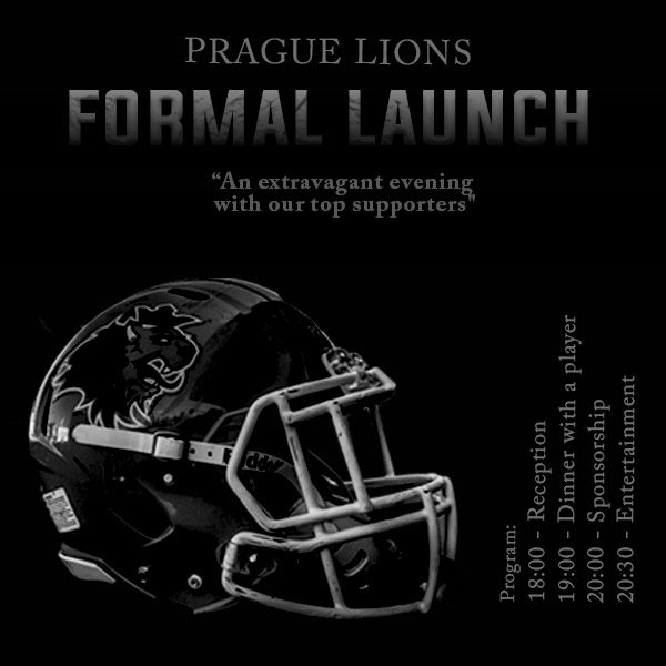 PRAGUE LIONS  FORMAL LAUNCH