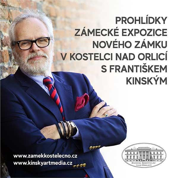 Prohlídky expozice zámku s Františkem Kinským