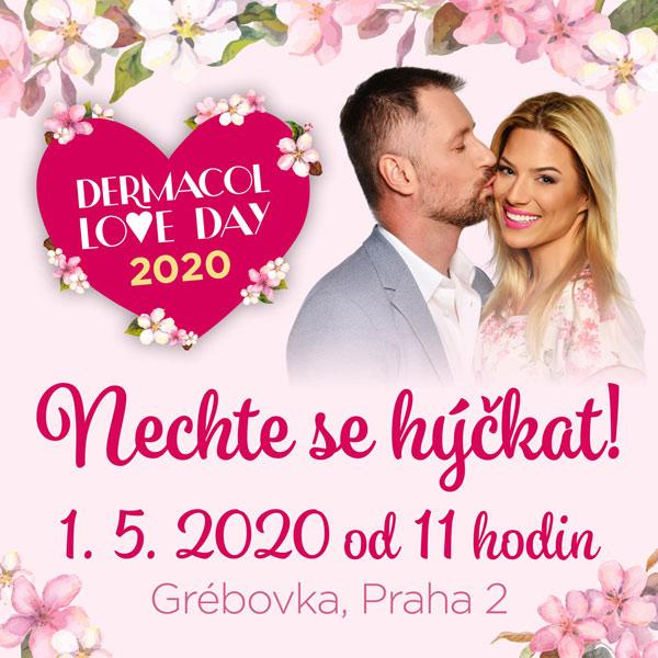 DERMACOL LOVE DAY 2020 - Růžová taška Dermacol
