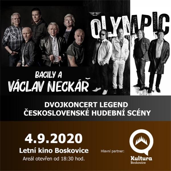 OLYMPIC a Václav Neckář - dvojkoncert legend