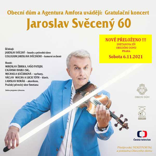 Gratulační koncert Jaroslav Svěcený 60