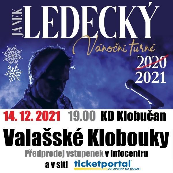 Janek Ledecký Vánoční turné 2021