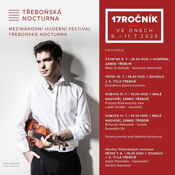 Bohuslav Matoušek – housle Ensemble 18+