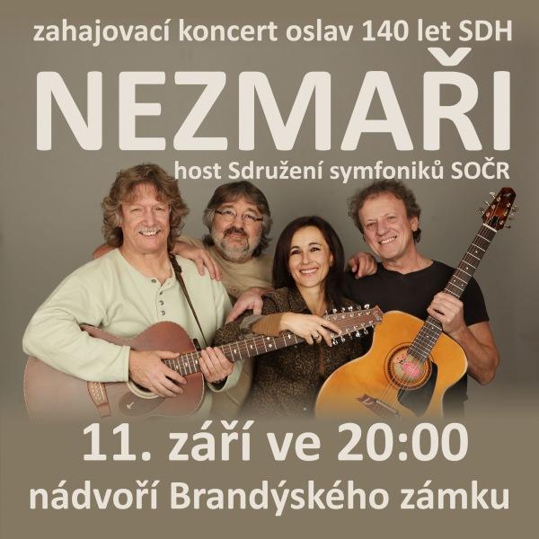 NEZMAŘI - 140 let SDH Brandýs