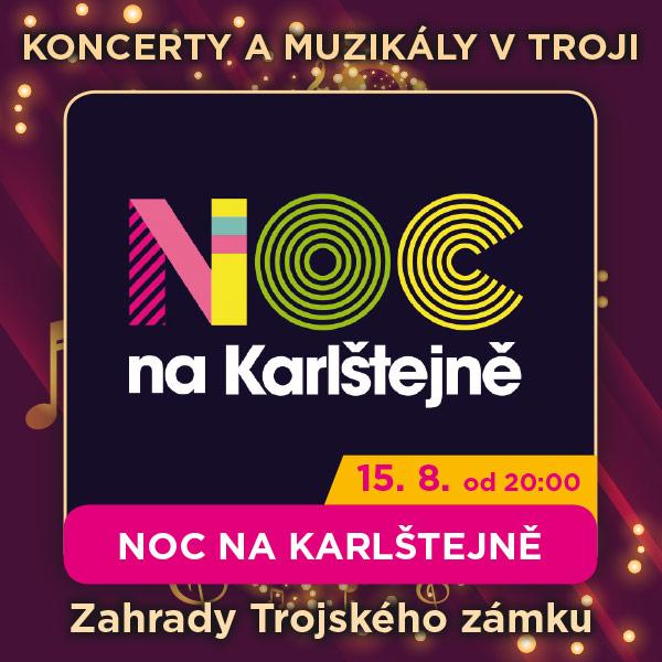 NOC NA KARLŠTEJNĚ, originál muzikálu z Karlštejna