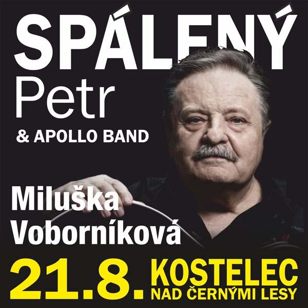 Petr Spálený, Miluška Voborníková & Apollo Band