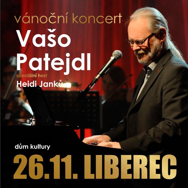 Vánoční koncert VAŠO PATEJDL