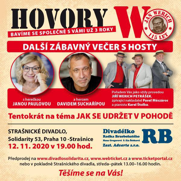 HOVORY W s Janou Paulovou a Davidem Suchařípou