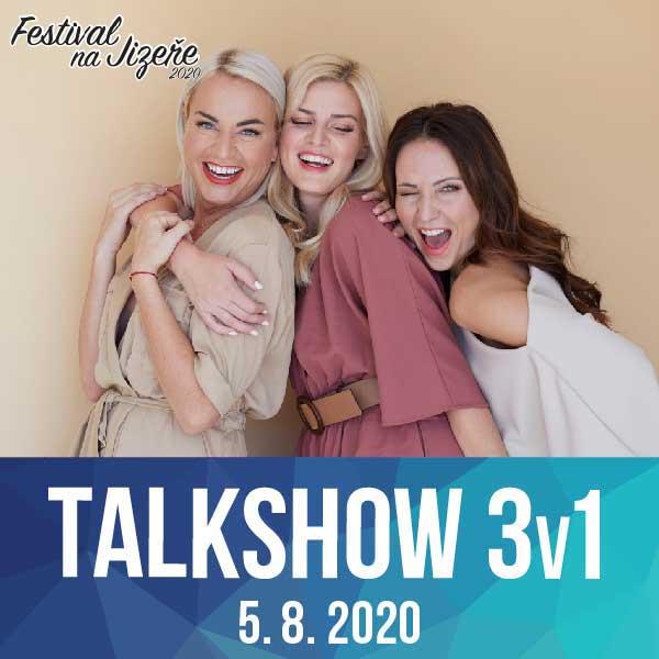 3V1 TALK SHOW - Štíbrová, Pártlová, Arichteva