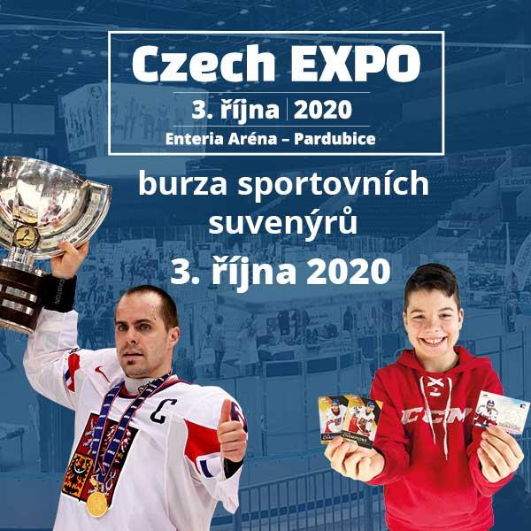 Czech EXPO – burza sportovních suvenýrů