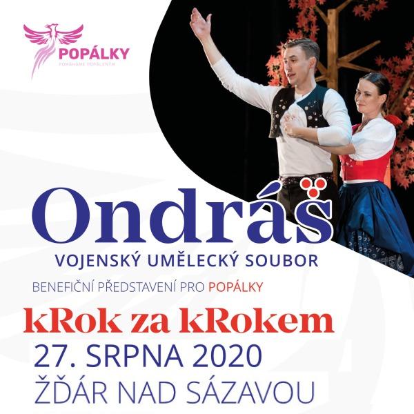 VUS Ondráš - kRok za kRokem / Benefice pro Popálky