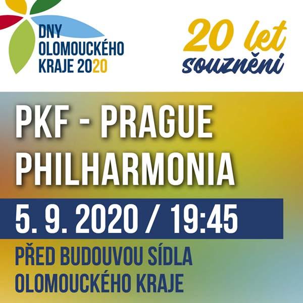 Open air koncert Olomouckého kraje 20 LET SOUZNĚNÍ