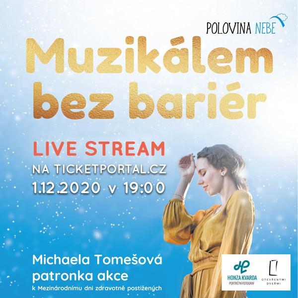 MUZIKÁLEM BEZ BARIÉR VI. - LIVE STREAM