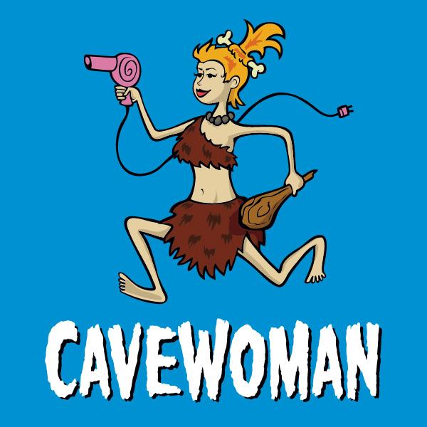 Cavewoman.