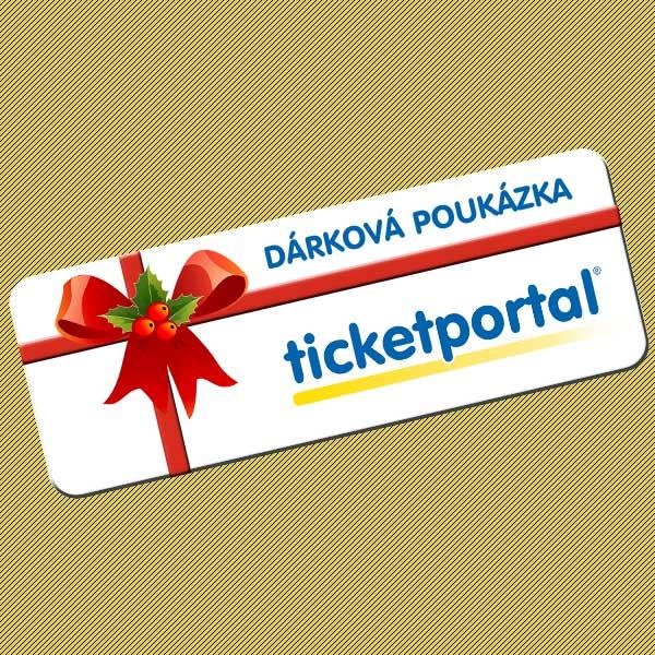 Dárková poukázka Ticketportal 2021