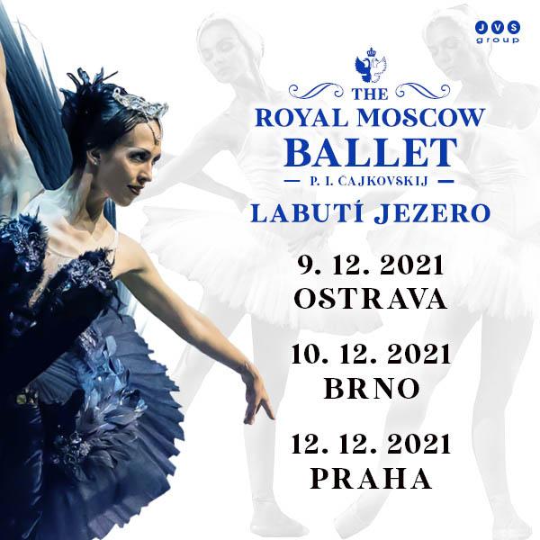 ROYAL MOSCOW BALLET - LABUTÍ JEZERO