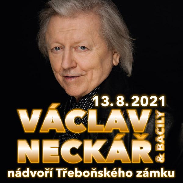 VÁCLAV NECKÁŘ & BACILY na zámku Třeboň