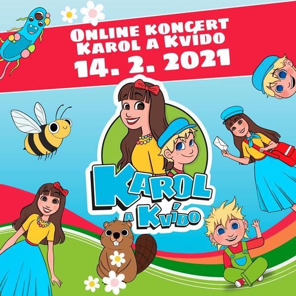online koncert Karol a Kvído