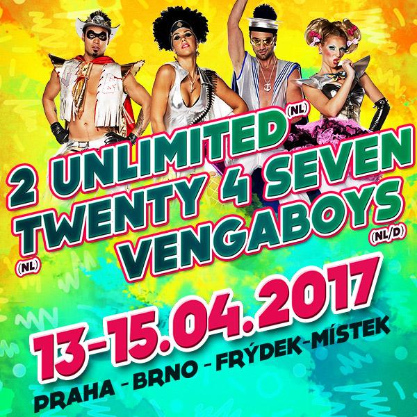 PUMP IT UP: 2 UNLIMITED/ Twenty 4Seven/ VENGABOYS