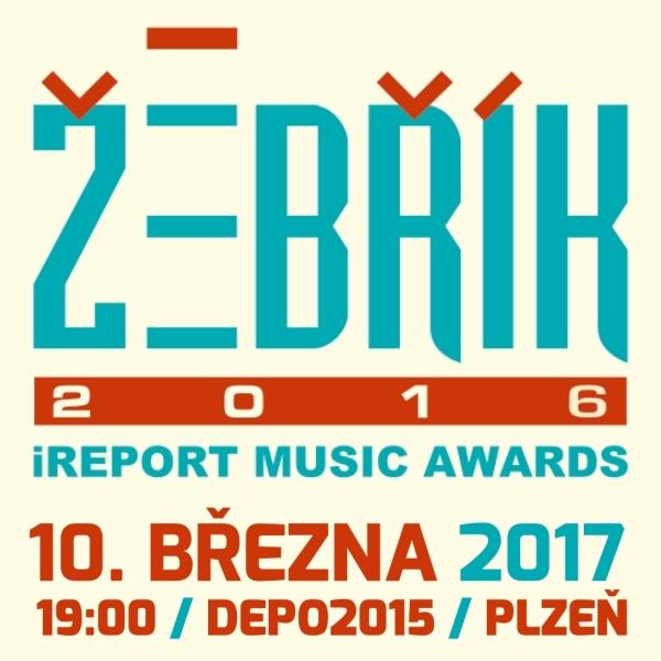 ŽEBŘÍK 2016 iREPORT MUSIC AWARDS