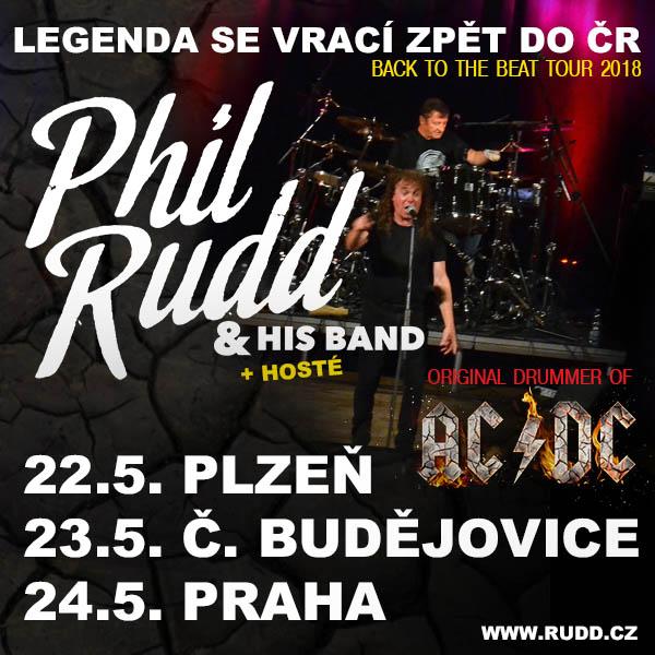 PHIL RUDD (ex-AC/DC) & His Band