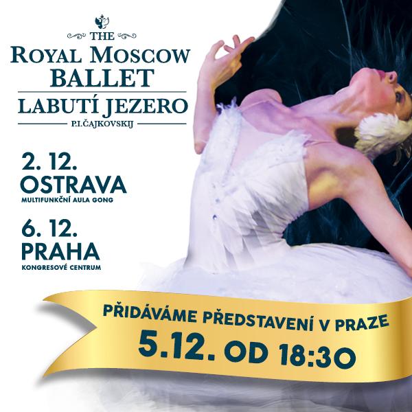 ROYAL MOSCOW BALLET, Labutí Jezero
