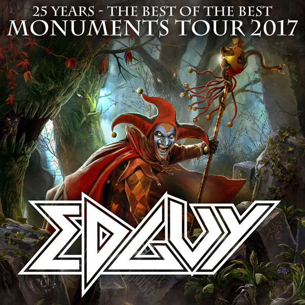 EDGUY (DE) - 25 Years / Tour 2017