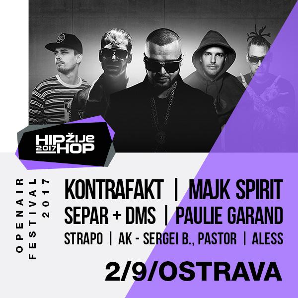 HIP HOP ŽIJE OSTRAVA 2017