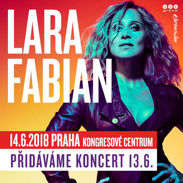 LARA FABIAN - CAMOUFLAGE TOUR 2018