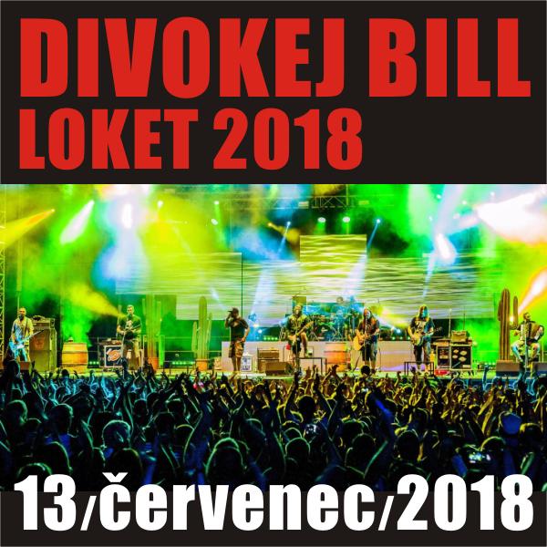 Divokej Bill LOKET 2018