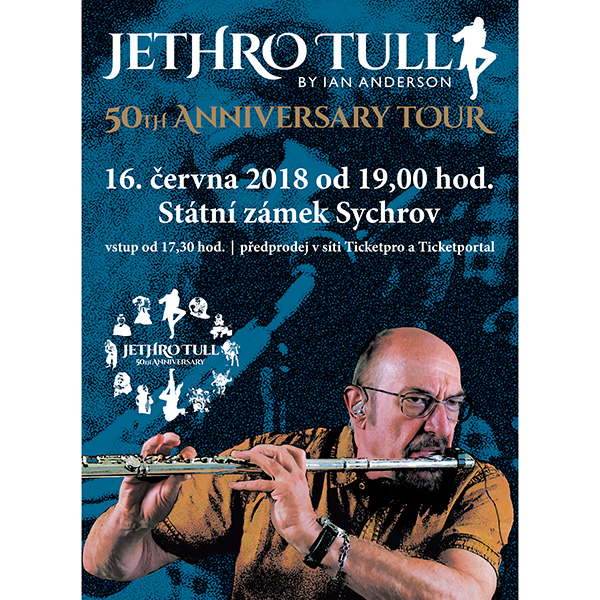 IAN ANDERSON presents JETHRO TULL - TOUR 2018
