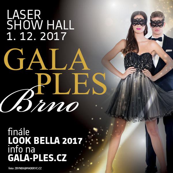 Gala Ples Brno 2017