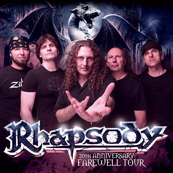 RHAPSODY - 20TH ANNIVERSARY FAREWELL TOUR
