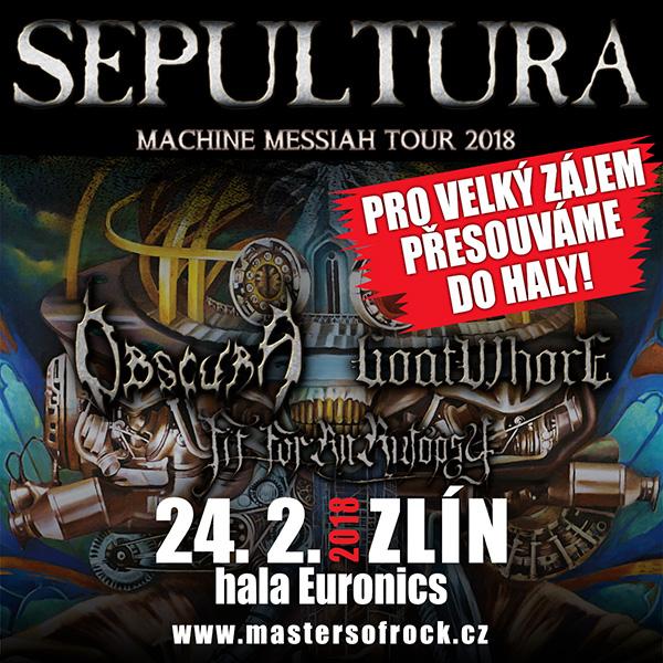 SEPULTURA (BR) - MACHINE MESSIAH TOUR 2018